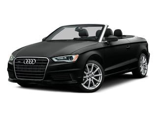 Mythos Black Metallic/Black Roof 2015 Audi A3 Pictures A3 Conv 2D 1.8T Premium Plus I4 Turbo photos front view