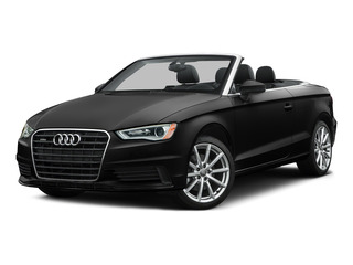 Brilliant Black/Black Roof 2015 Audi A3 Pictures A3 Conv 2D 1.8T Premium 2WD I4 Turbo photos front view