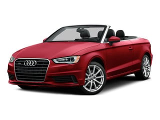 Brilliant Red/Black Roof 2015 Audi A3 Pictures A3 Conv 2D 1.8T Premium 2WD I4 Turbo photos front view