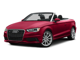 Brilliant Red/Black Roof 2015 Audi A3 Pictures A3 Conv 2D 1.8T Premium Plus I4 Turbo photos front view