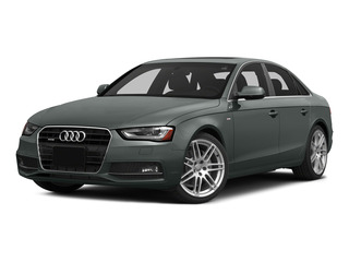 Monsoon Gray Metallic 2015 Audi A4 Pictures A4 Sedan 4D 2.0T Prestige 2WD photos front view