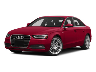 Brilliant Red 2015 Audi A4 Pictures A4 Sedan 4D 2.0T Prestige AWD photos front view
