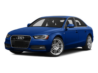 Sepang Blue Pearl Effect 2015 Audi A4 Pictures A4 Sedan 4D 2.0T Prestige 2WD photos front view