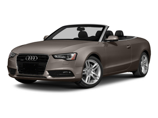 Dakota Gray Metallic/Black Roof 2015 Audi A5 Pictures A5 Convertible 2D Premium Plus AWD photos front view