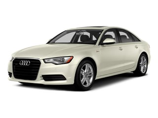 Glacier White Metallic 2015 Audi A6 Pictures A6 Sedan 4D 3.0T Prestige AWD photos front view