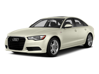 Glacier White Metallic 2015 Audi A6 Pictures A6 Sedan 4D TDI Prestige AWD photos front view