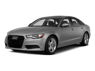Ice Silver Metallic 2015 Audi A6 Pictures A6 Sedan 4D TDI Prestige AWD photos front view