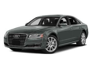 Monsoon Gray Metallic 2015 Audi A8 Pictures A8 Sedan 4D 4.0T AWD V8 Turbo photos front view