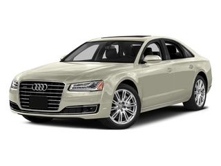 Glacier White Metallic 2015 Audi A8 Pictures A8 Sedan 4D 3.0T AWD V6 Turbo photos front view