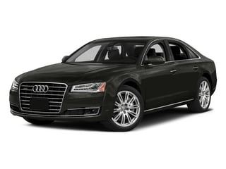 Havanna Black Metallic 2015 Audi A8 Pictures A8 Sedan 4D 4.0T AWD V8 Turbo photos front view