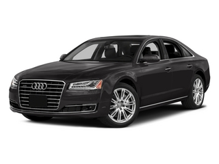 Oolong Gray Metallic 2015 Audi A8 Pictures A8 Sedan 4D 4.0T AWD V8 Turbo photos front view