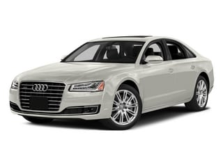 Ibis White 2015 Audi A8 Pictures A8 Sedan 4D 3.0T AWD V6 Turbo photos front view