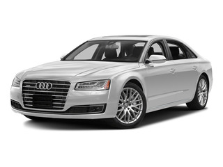 Glacier White Metallic 2015 Audi A8 L Pictures A8 L Sedan 4D 4.0T L AWD V8 Turbo photos front view