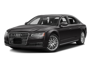Oolong Gray Metallic 2015 Audi A8 L Pictures A8 L Sedan 4D 4.0T L AWD V8 Turbo photos front view