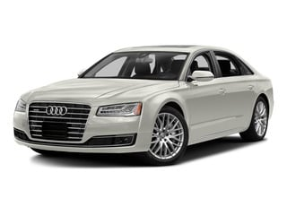 Ibis White 2015 Audi A8 L Pictures A8 L Sedan 4D TDI L AWD V6 photos front view
