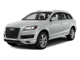 Carrara White 2015 Audi Q7 Pictures Q7 Utility 4D 3.0 Premium AWD photos front view