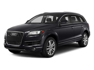Orca Black Metallic 2015 Audi Q7 Pictures Q7 Utility 4D 3.0 TDI Premium AWD photos front view