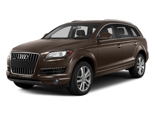 Teak Brown Metallic 2015 Audi Q7 Pictures Q7 Utility 4D 3.0 TDI Premium AWD photos front view