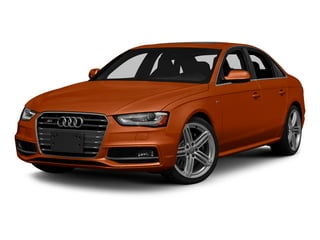 Volcano Red Metallic 2015 Audi S4 Pictures S4 Sedan 4D S4 Prestige AWD photos front view