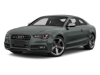 Monsoon Gray Metallic 2015 Audi S5 Pictures S5 Coupe 2D S5 Prestige AWD photos front view