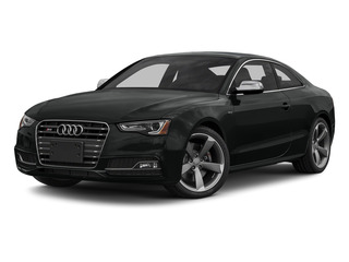 Mythos Black Metallic 2015 Audi S5 Pictures S5 Coupe 2D S5 Prestige AWD photos front view