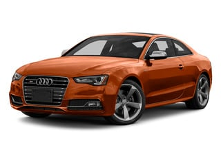 Volcano Red Metallic 2015 Audi S5 Pictures S5 Coupe 2D S5 Prestige AWD photos front view