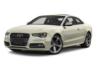 Glacier White Metallic 2015 Audi S5 Pictures S5 Coupe 2D S5 Prestige AWD photos front view