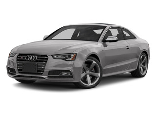 Floret Silver Metallic 2015 Audi S5 Pictures S5 Coupe 2D S5 Prestige AWD photos front view
