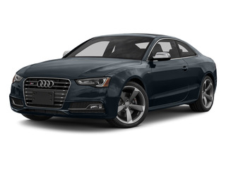 Moonlight Blue Metallic 2015 Audi S5 Pictures S5 Coupe 2D S5 Prestige AWD photos front view