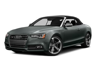 Monsoon Gray Metallic/Black Roof 2015 Audi S5 Pictures S5 Convertible 2D S5 Prestige AWD photos front view