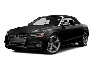 Mythos Black Metallic/Black Roof 2015 Audi S5 Pictures S5 Convertible 2D S5 Premium Plus AWD photos front view