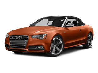 Volcano Red Metallic/Black Roof 2015 Audi S5 Pictures S5 Convertible 2D S5 Prestige AWD photos front view