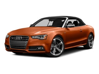Volcano Red Metallic/Black Roof 2015 Audi S5 Pictures S5 Convertible 2D S5 Premium Plus AWD photos front view