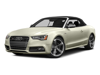 Glacier White Metallic/Black Roof 2015 Audi S5 Pictures S5 Convertible 2D S5 Premium Plus AWD photos front view