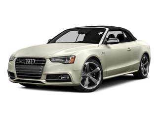 Glacier White Metallic/Black Roof 2015 Audi S5 Pictures S5 Convertible 2D S5 Prestige AWD photos front view