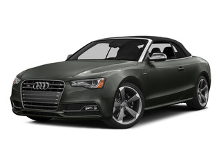 Daytona Gray Pearl Effect/Black Roof 2015 Audi S5 Pictures S5 Convertible 2D S5 Premium Plus AWD photos front view
