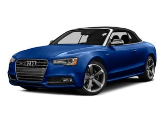 Sepang Blue Pearl Effect/Black Roof 2015 Audi S5 Pictures S5 Convertible 2D S5 Premium Plus AWD photos front view