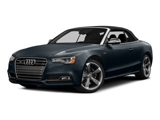 Moonlight Blue Metallic/Black Roof 2015 Audi S5 Pictures S5 Convertible 2D S5 Premium Plus AWD photos front view