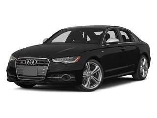 Phantom Black Pearl Effect 2015 Audi S6 Pictures S6 Sedan 4D S6 Prestige AWD photos front view