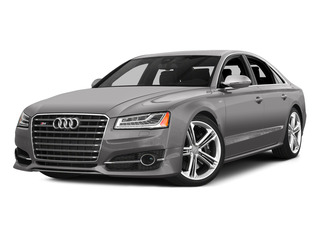 Cuvee Silver Metallic 2015 Audi S8 Pictures S8 Sedan 4D S8 AWD V8 Turbo photos front view