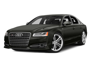 Havanna Black Metallic 2015 Audi S8 Pictures S8 Sedan 4D S8 AWD V8 Turbo photos front view