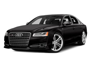 Oolong Gray Metallic 2015 Audi S8 Pictures S8 Sedan 4D S8 AWD V8 Turbo photos front view