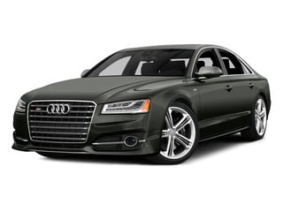 Daytona Gray Pearl Effect 2015 Audi S8 Pictures S8 Sedan 4D S8 AWD V8 Turbo photos front view
