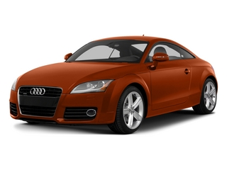 Volcano Red Metallic 2015 Audi TT Pictures TT Coupe 2D AWD photos front view