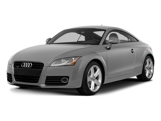 Ice Silver Metallic 2015 Audi TT Pictures TT Coupe 2D AWD photos front view