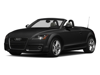 Phantom Black Pearl Effect/Black Roof 2015 Audi TT Pictures TT Roadster 2D AWD photos front view