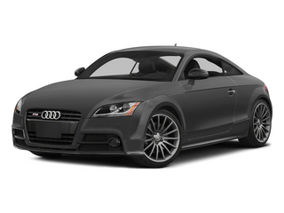 Nimbus Gray Pearl Effect 2015 Audi TTS Pictures TTS Coupe 2D AWD photos front view