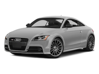 Ice Silver Metallic 2015 Audi TTS Pictures TTS Coupe 2D AWD photos front view