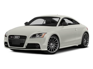 Ibis White 2015 Audi TTS Pictures TTS Coupe 2D AWD photos front view