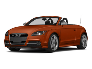 Volcano Red Metallic/Black Roof 2015 Audi TTS Pictures TTS Roadster 2D AWD photos front view